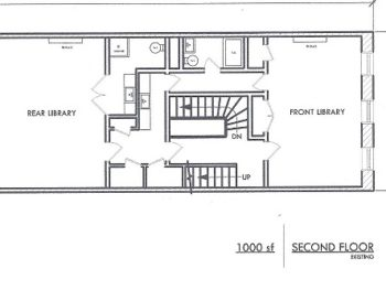 Floor Plan for the full Library Suite